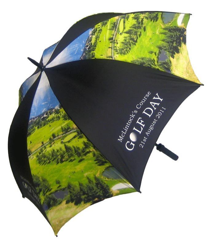 Printed Promotional Spectrum Sport Pro Umbrella