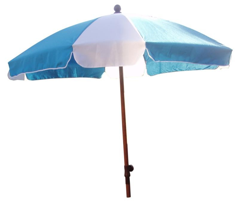 Printed Promotional Wooden Garden Square Parasol