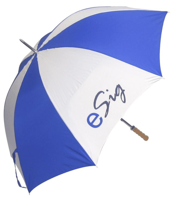 Printed Promotional Budget Golf Umbrella