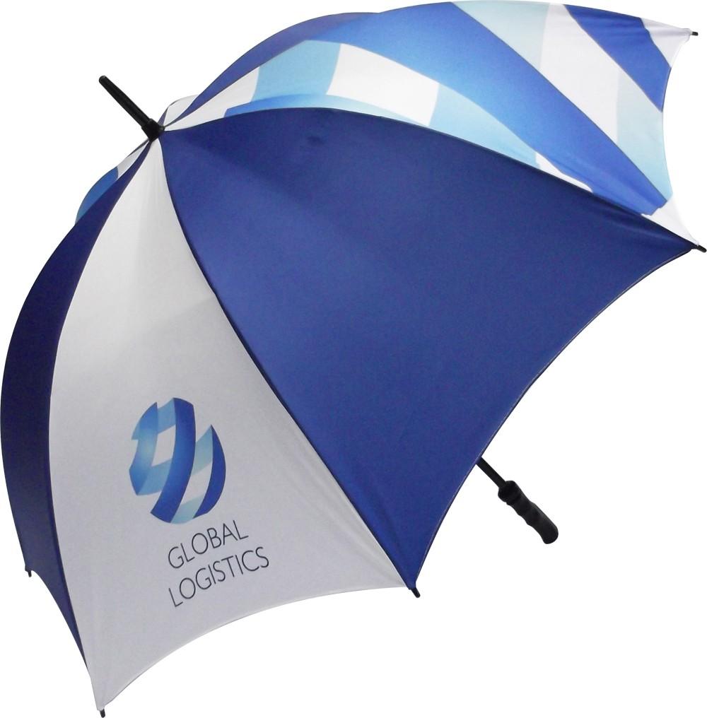 Printed Promotional Fibrestorm Umbrella